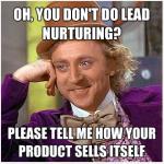 Charlie Chocolate Factory Marketing Meme