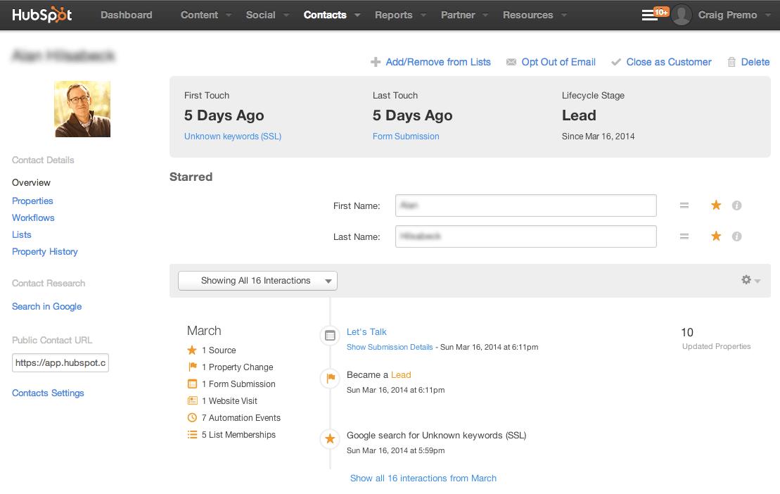 HubSpot Signals Email Summary