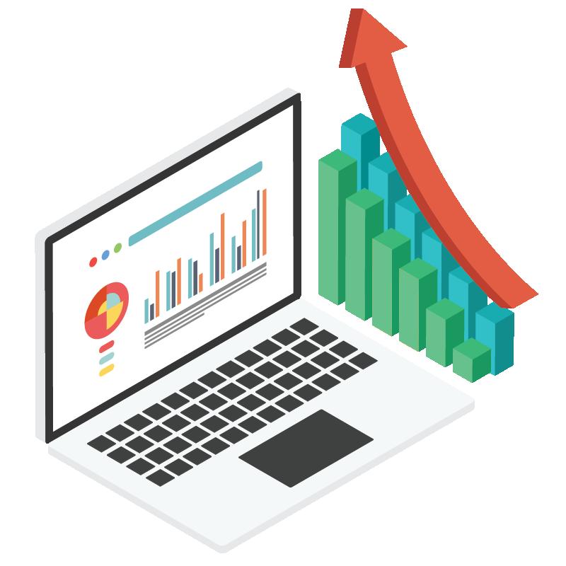 Analytics and Optimization Icon