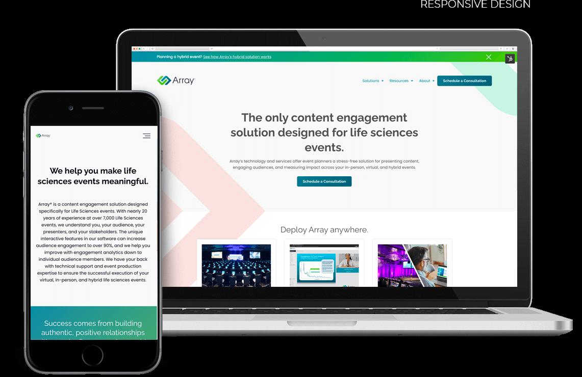 Array-live-responsive