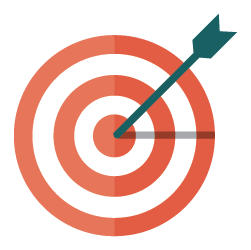 Account Based Marketing - Bullseye Icon