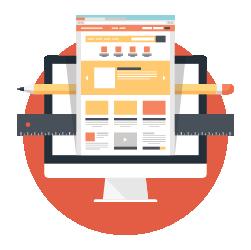Website Design - Computer Screen Icon