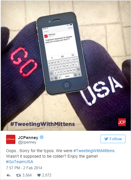 Tweeting With Mittens
