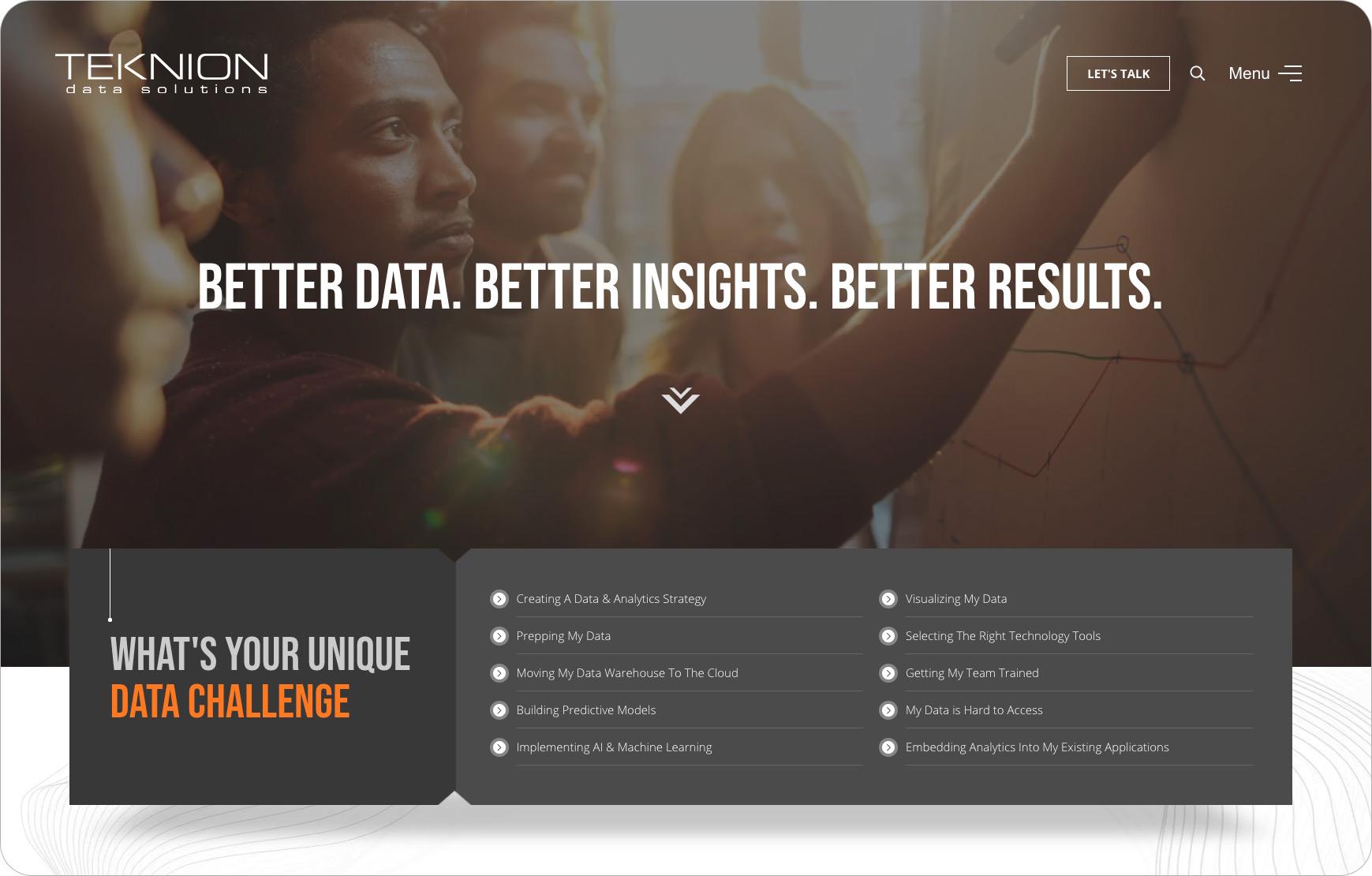 Teknion-home-screen