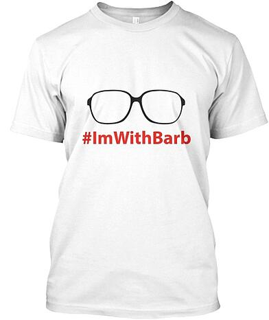 stranger things i'm with barb shirt