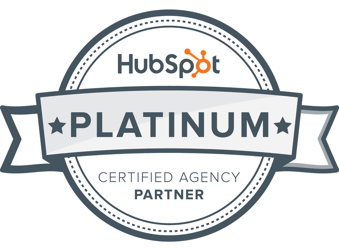 Logo for HubSpot Platinum Certified Agency Partner