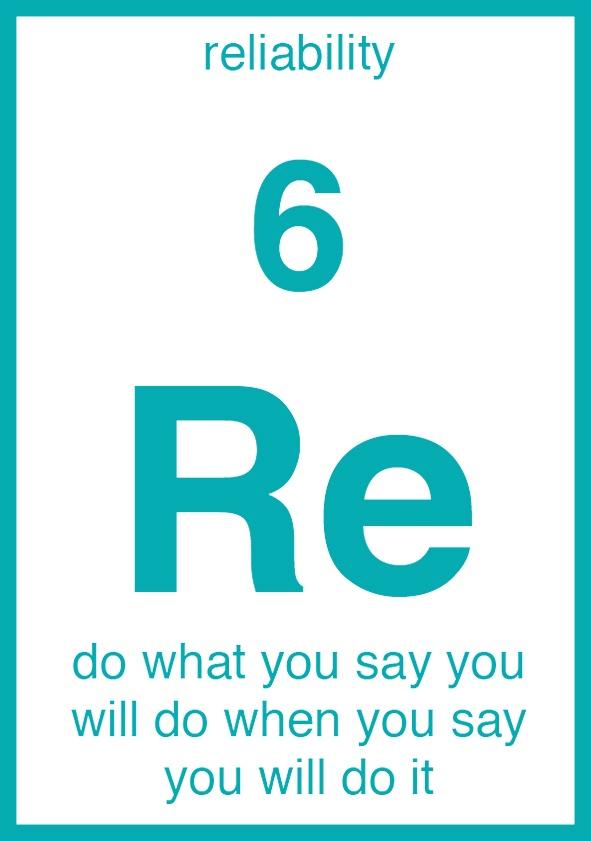 Reliability Core Element